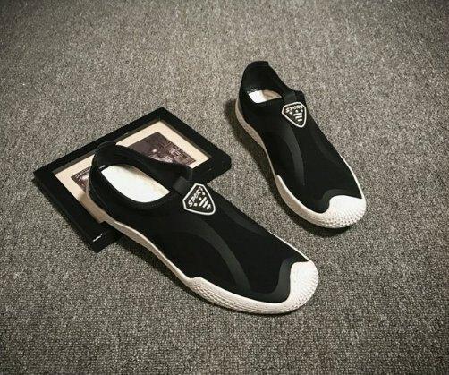 FINDSENSE Z1 日系 時尚 潮流 男士戶外 網格 休閒鞋 運動鞋 樂福鞋 一腳蹬