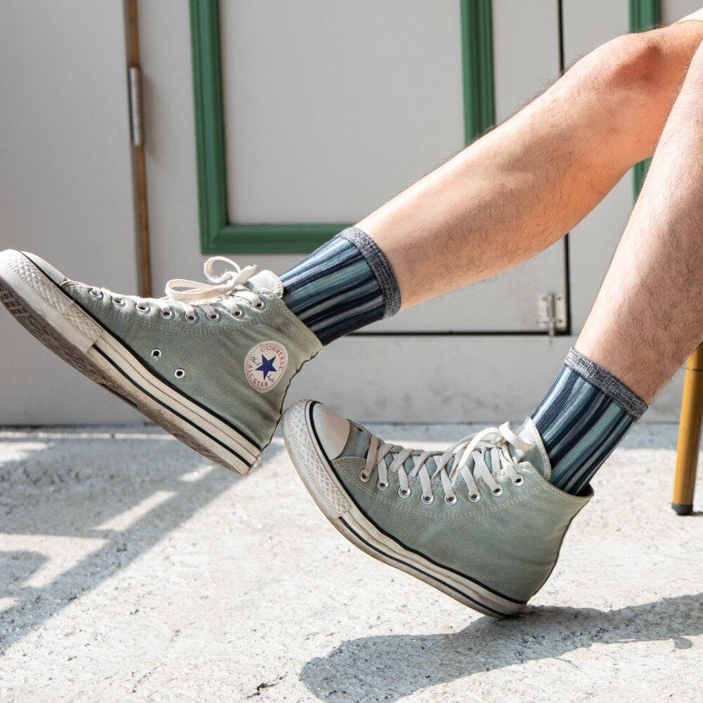 AREX SPORT 咖啡紗3D科技襪(小創襪)-存在感 休閒襪/中筒襪/長筒襪/文青襪/學生襪 除臭/抗菌/舒適/透氣