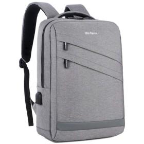 ビジネスリュックメンズ 15.6インチ PC ビジネス ラップトップバック 大容量 USB充電機能付き 男女兼用 アウトドア旅行防水