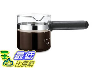 [106美國直購] 咖啡機專用玻璃杯 Medelco 4 Cup Universal Glass Espresso Replacement Carafe, Black B000TD3D2A