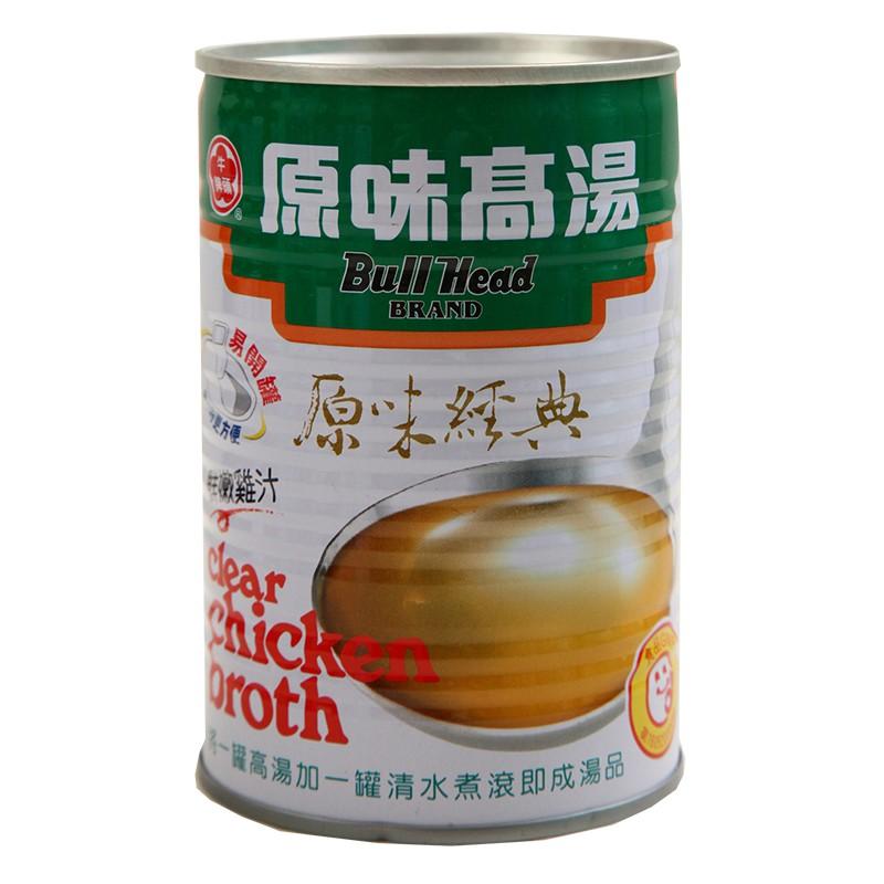 牛頭牌原味高湯雞411gX2罐