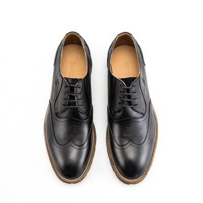 短靴真皮繫帶靴子-商務時尚英倫紳士男靴73kk102【獨家進口】【米蘭精品】