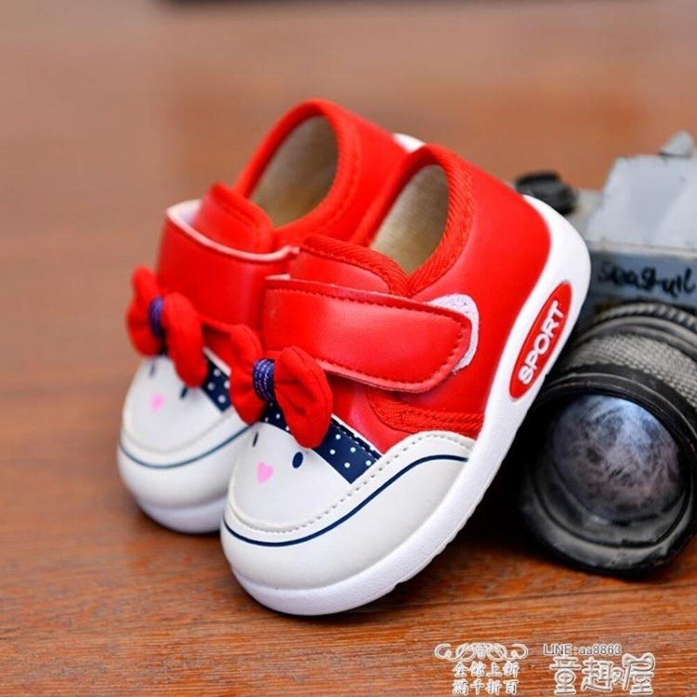 女童帆布鞋  秋冬兒童鞋帆布鞋女童公主寶寶鞋子小童加絨棉鞋皮面休閒鞋1 3歲2   全館八五折