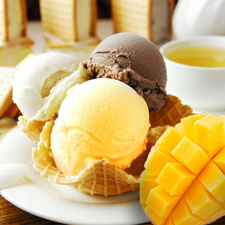【Bella227】【手工冰淇淋】愛文菓菓(130ml)