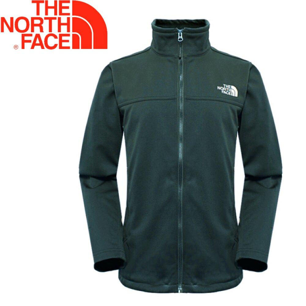 【The North Face 美國 男款 防風外套《墨綠》】366J/防潑水/超輕量/保暖