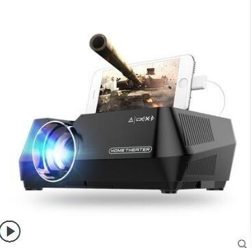 投影機 手機投影儀家用wifi無線高清智能微型投影機便攜式家庭影院800*480 全館八八折