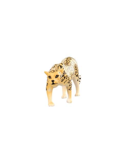 【美國B.Toys感統玩具】Terra 草原動物-美洲豹【紫貝殼】