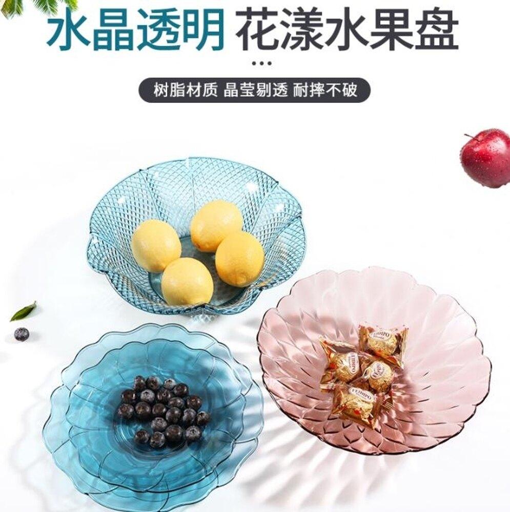 北歐水果盤家用客廳現代茶幾果盤糖果瓜子果籃干果盤