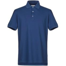 《セール開催中》BALLANTYNE メンズ ポロシャツ ブルー M コットン 100%
