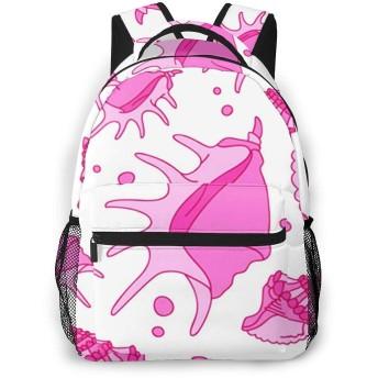 リュック バック 貝殻40, リュックサック ビジネスリュック メンズ レディース カジュアル 男女兼用大容量 通学 旅行 鞄 カバン