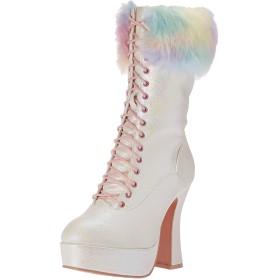 [エリーシューズ] レディース 557-nora ファッションブーツ US サイズ: 10 カラー: ホワイト