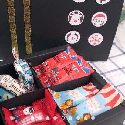 【嚴選SHOP】黑色素盒 6粒裝月餅盒 紙袋 抽屜盒 蛋黃酥包裝素盒 包裝紙盒 牛軋糖盒 餅乾盒 中秋禮盒【C067】