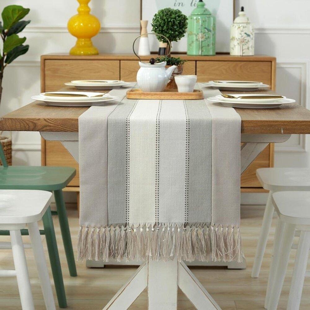 時尚可愛空間餐桌布 茶几布 隔熱墊 鍋墊 杯墊 餐桌巾桌旗 609 (38*180cm)