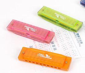 口琴兒童初學者寶寶幼兒園小禮物10孔迷你小口琴玩具益智禮品