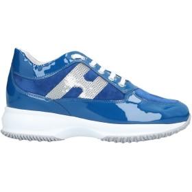 《セール開催中》HOGAN レディース スニーカー&テニスシューズ(ローカット) ブルー 36 革 / 指定外繊維