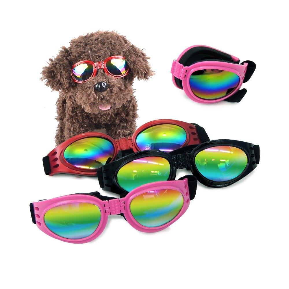 【出清特價100元】QQ 折疊扮酷寵物墨鏡(不挑色)(WA40026) 犬造型 狗配件 可超取(K001B02) 毛孩歡樂購