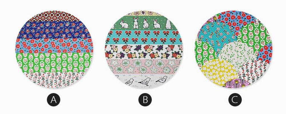 ✤宜家✤多功能可愛時尚全棉碎花餐桌布 茶几布 (150cm*220cm)