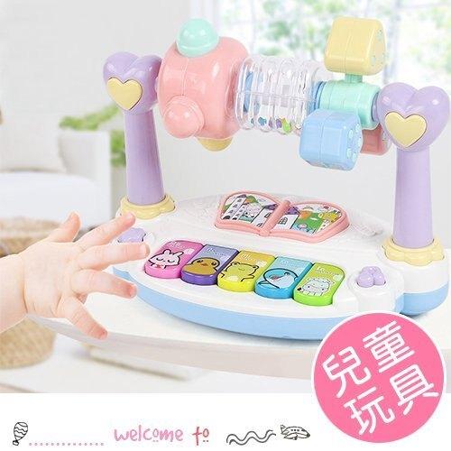兒童多功能打地鼠旋轉音樂琴 玩具