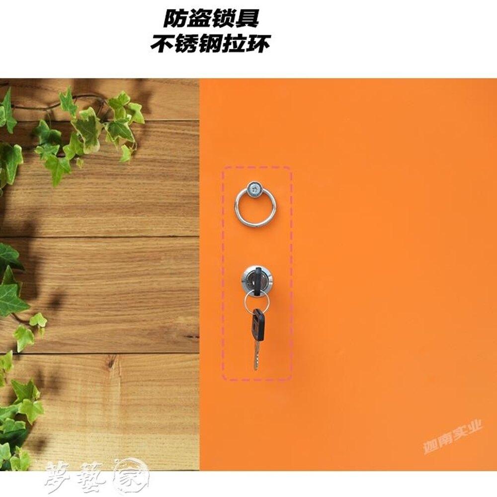 鑰匙箱 鋼制汽車鑰匙管理箱壁掛式酒店中介鑰匙收納櫃落地物業鑰匙管理櫃MKS 夢藝家