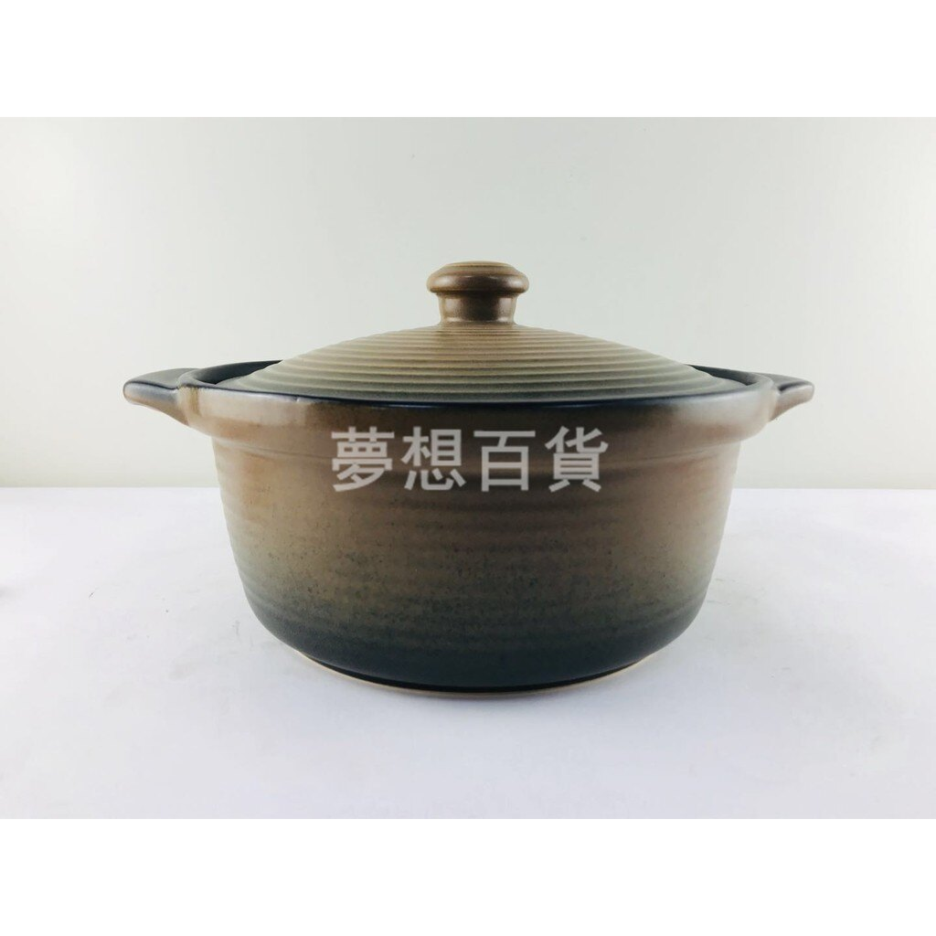 養生湯燉鍋(附蓋)303 2800cc 養生鍋 砂鍋 滷味鍋 土鍋 陶瓷鍋 燉鍋 煲湯 魯肉鍋(伊凡卡百貨)