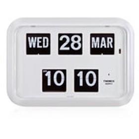 【ザ・クロックハウス:時計】TWEMCO トゥエンコ QD-35WHITE パタパタ フリップ