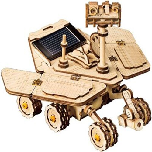 《Robotime》木製 拼圖 LS503 太陽能車 Spirit Rover 東喬精品百貨