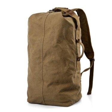 免運 大容量雙肩包旅行包潮休閒登山包男士帆布背包輕便戶外旅游運動包