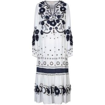 《セール開催中》MICHAEL MICHAEL KORS レディース 7分丈ワンピース・ドレス ホワイト XXS シルク 100%