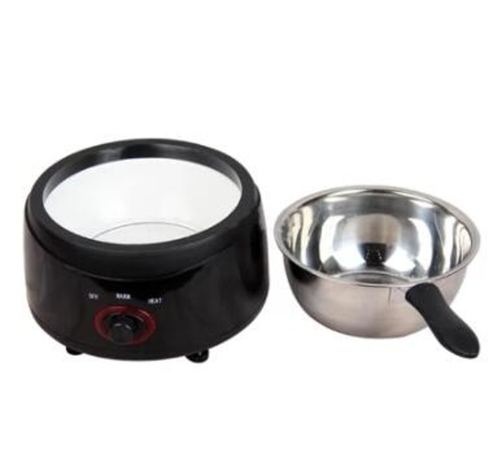電加熱巧克力融化機熔爐融鍋熔鍋 手工皂精油皂蠟療機熔化鍋 mks 清涼一夏钜惠
