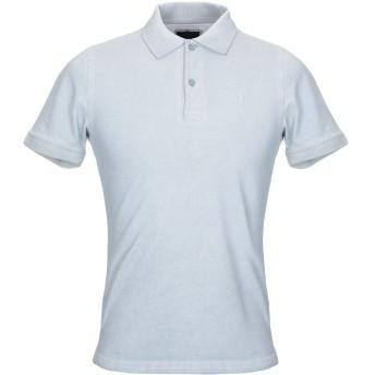 《セール開催中》LIU JO MAN メンズ ポロシャツ ライトグレー S コットン 100%