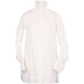 《セール開催中》CARVEN レディース シャツ ホワイト 34 コットン 100%