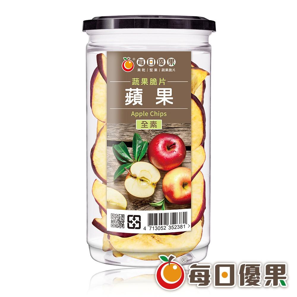 每日優果 罐裝蘋果脆片120G