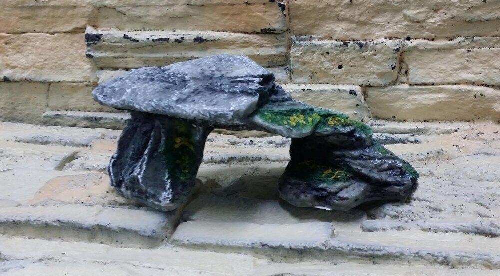 【西高地水族坊】仿岩石造型烏龜島