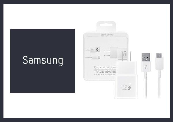 SAMSUNG 三星 原廠快充通用型旅充組 (9V充電器+Type C傳輸線) 公司貨