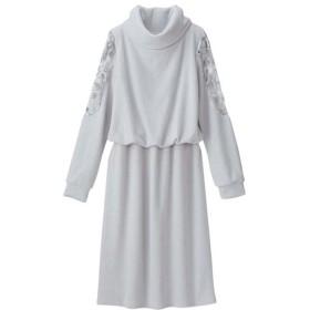 [マルイ]【セール】肩レース使いふわもちリブワンピース/ジーラ バイ リュリュ(ファッション)(GeeRA (fashion))