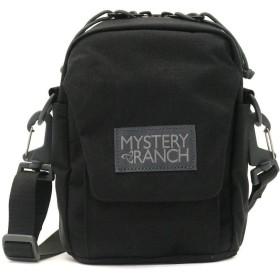 MYSTERY RANCH ショルダーバッグ 斜め掛け 肩掛け バッグ メンズ レディース 薄型 軽量 人気 (ブラック)
