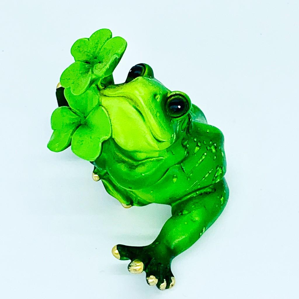 日本青蛙代表幸運 外出的親朋好友平平安安 悠閒系列 青蛙 擺飾 5