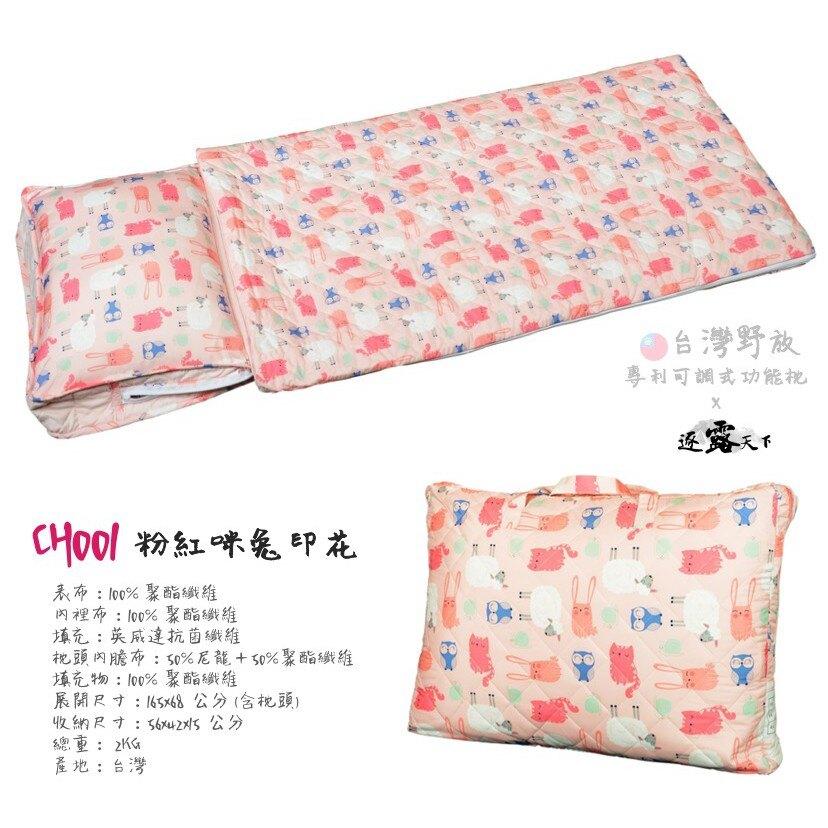 現貨 台灣野放 wildfun 多功能四季可用兒童睡袋