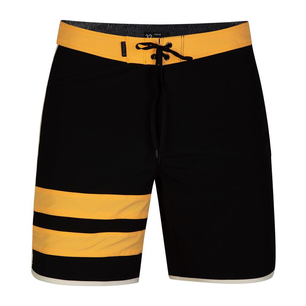 Hurley M HRLY PHNTM BP SOLID BDST 18 BLACK 海灘褲-(男)