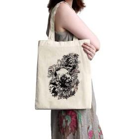 リネンキャンバスショッピングバッグ - ゾンビの黙示録 - ママ、祖母、姉妹、姉妹へのとても良い贈り物-ファッションバッグ 大きさ34x38cm