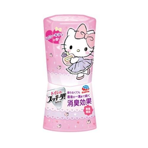 日本 地球製藥 洗手間.廁所芳香除臭劑 400ml~KT包裝限定 蘋果香✿
