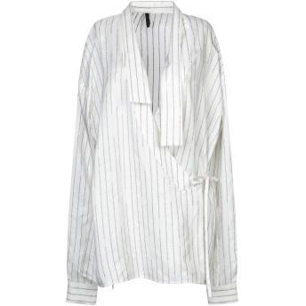 《セール開催中》BEN TAVERNITI UNRAVEL PROJECT レディース シャツ アイボリー XS シルク 100%