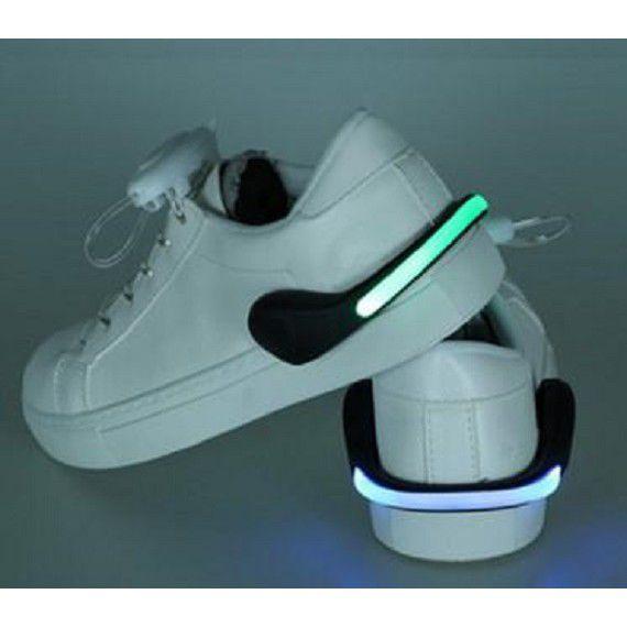 LED發光鞋夾【黑殼七彩光】【粉殼七彩光】二款可選 LED發光鞋夾 安全夜跑騎行警示燈 DIGITAL INT1129劉