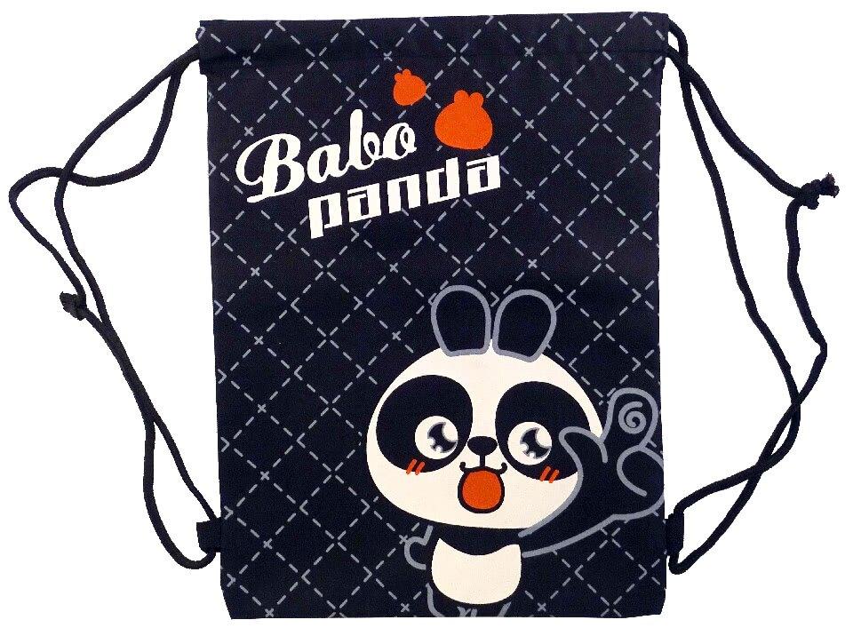 【Babo Panda】BAG-01D巴布熊貓運動束口袋 後背包 學生 書包