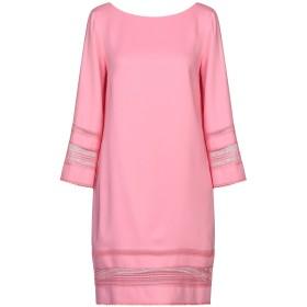 《セール開催中》ATOS LOMBARDINI レディース ミニワンピース&ドレス ピンク 42 レーヨン 97% / ポリウレタン 3% / ポリエステル