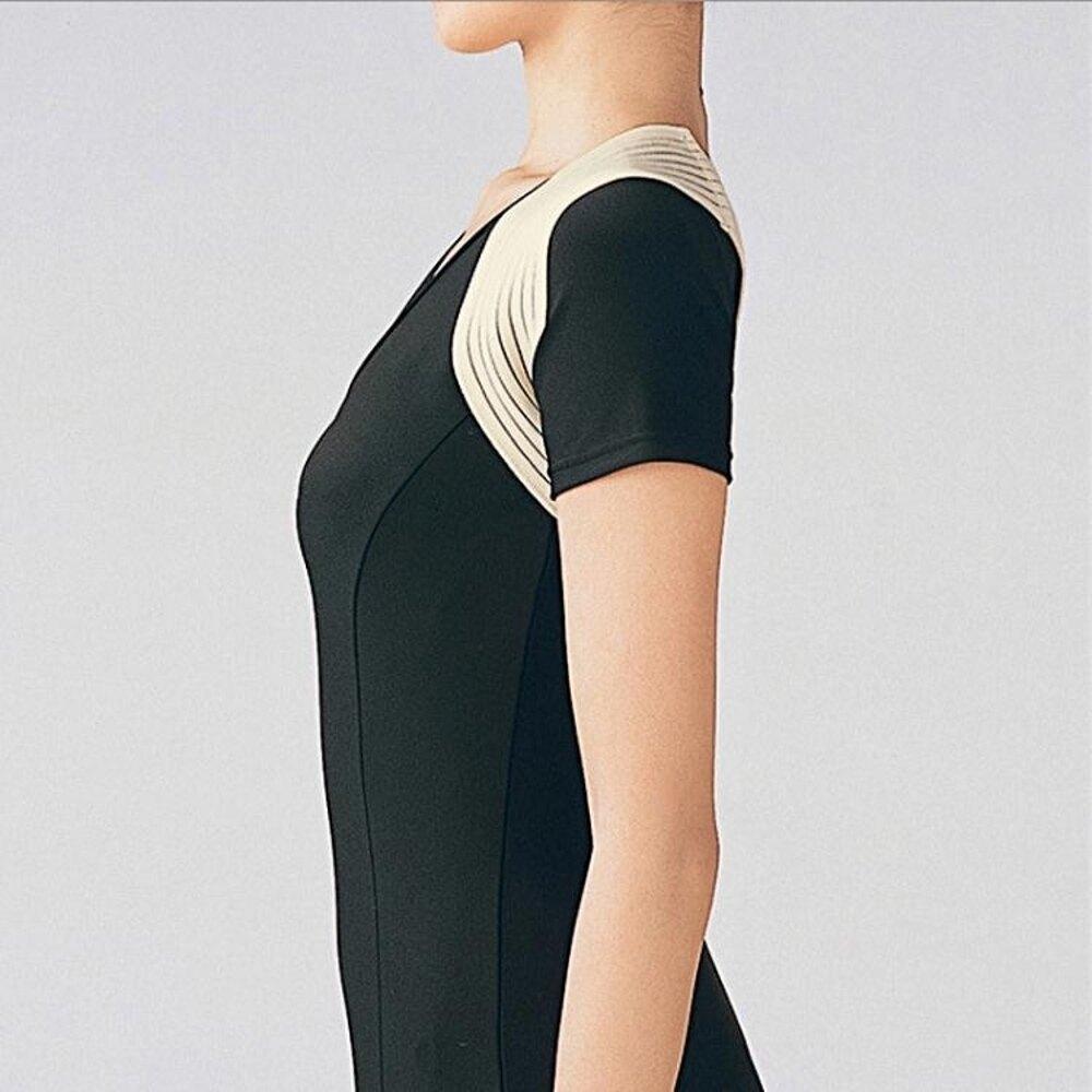 駝背帶改善含胸高低肩姿勢神器學生女士成人隱形薄衣 清涼一夏钜惠