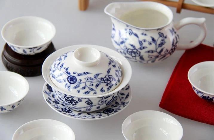 特價景德鎮陶瓷器功夫茶具 青花瓷茶具功夫茶具