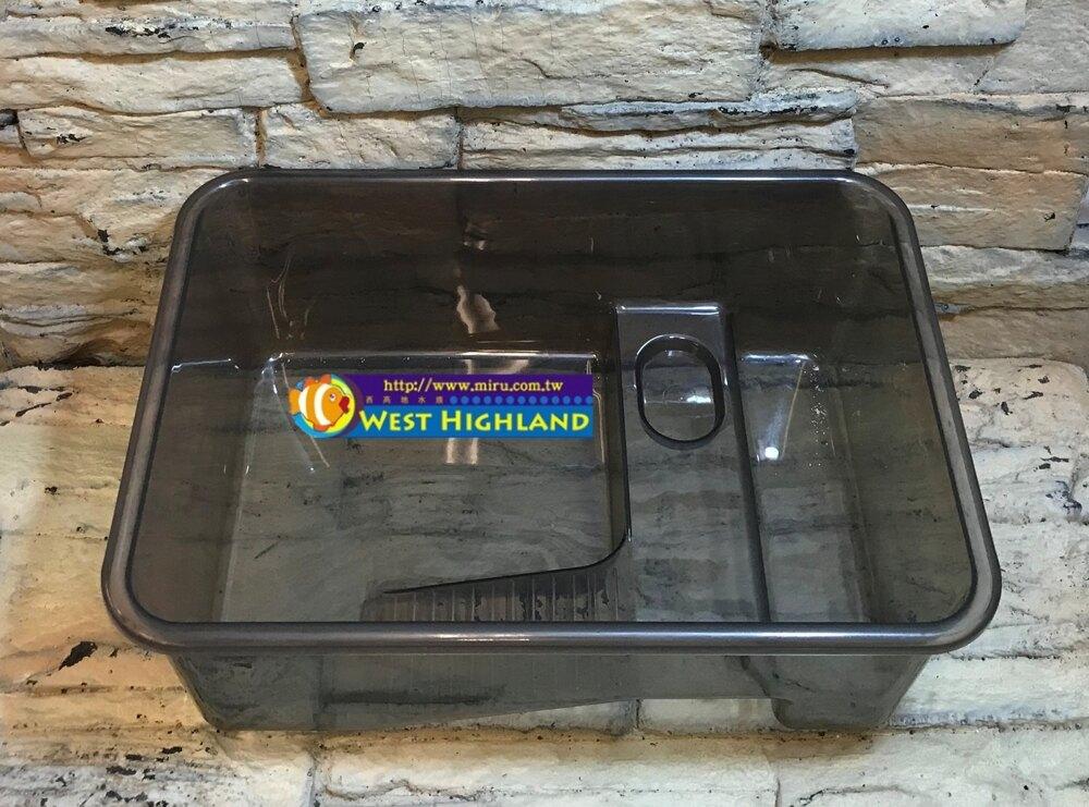 【西高地水族坊】小型生態烏龜缸 龜盒 龜池 龜箱 養殖箱(小)