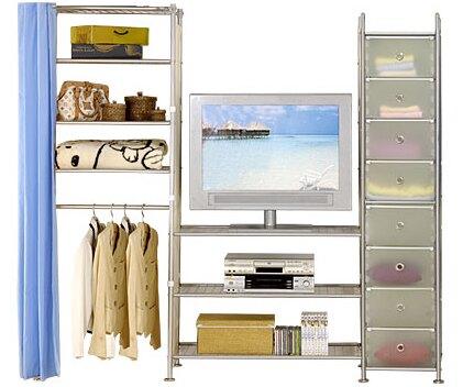 巴塞隆納─W4型60+90+D電視衣櫥置物櫃