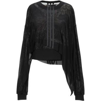 《セール開催中》Y-3 レディース スウェットシャツ ブラック XXS コットン 100% / ナイロン / ポリウレタン